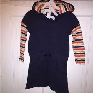 Gymboree hooded dress for girls